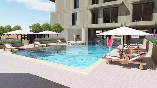 فلیٹ 3 غرف نوم للبيع في شاطئ الراحة، أبوظبي - شقة أول ساكن تشطيب فاخر | اطلالة على القناة | مفروشة بالكامل | وسائل الراحة