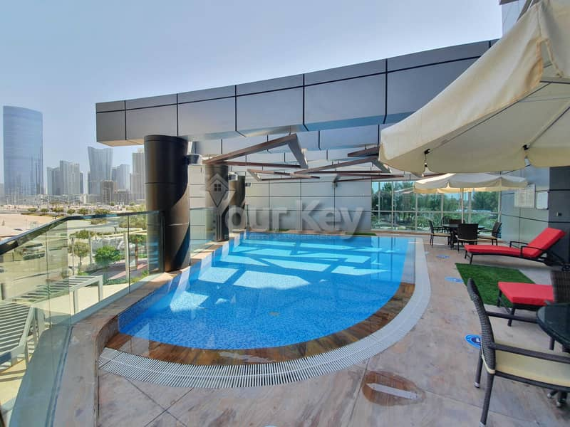 19 2+ maid Spacious  at exit of reem island