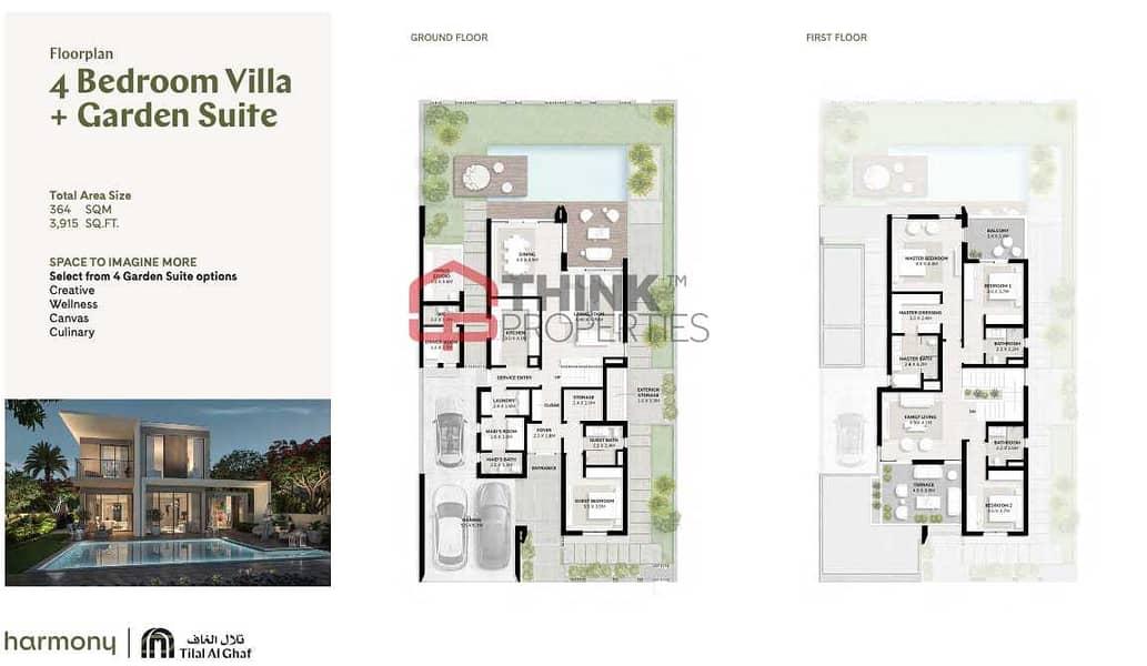 10 New 4BR Villa Vastu Compliant 5mins Walk to Lagoon