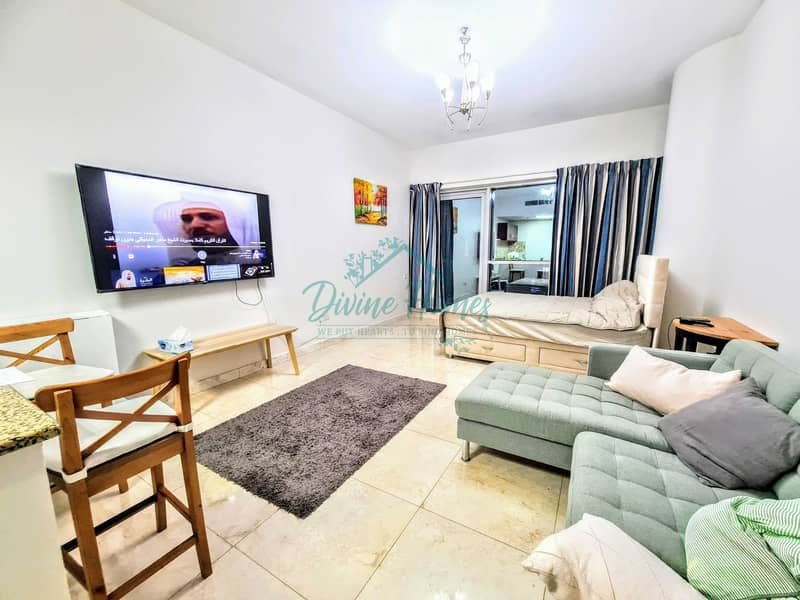 Burj View n Canal View   Furnished Unit   Reserved Parking