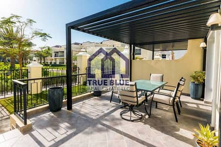 3 Bedroom Villa for Sale in Al Hamra Village, Ras Al Khaimah - 3 BEDROOM+MAID G+2 ROOF ACCESS BEST DEAL