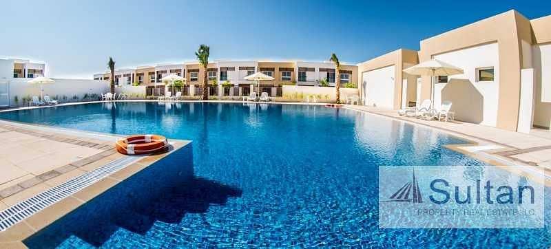 Wonderful 3 Bedrooms+Maid Room Villa in  Mina Al Arab