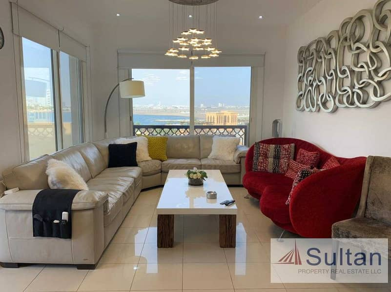 Amazing sea view 2+Maid Room Available For Sale