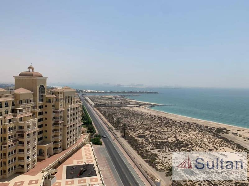 10 Lovely Semi Furnished  Studio High Floor  Sea View For Rent