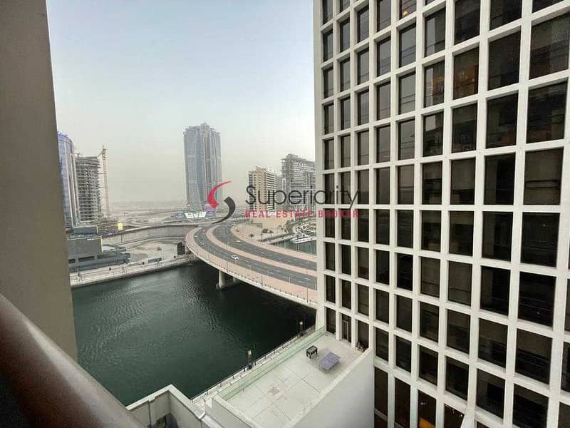13 Canal View   With Parking   Furnished   DAMAC Maison The Vogue (Burj Damac 5)