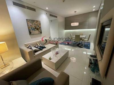 فلیٹ 1 غرفة نوم للبيع في الخليج التجاري، دبي - Rented | Canal View | With Parking | Furnished