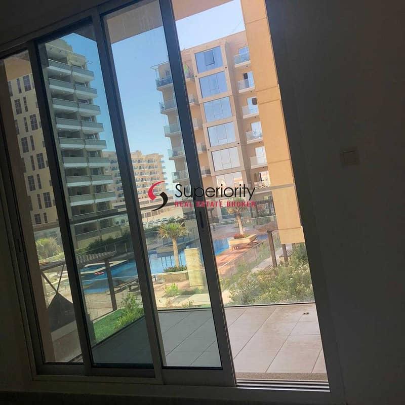 2 Studio  with Nice atmosphere balcony  for Rent in Sherena Residence Majan