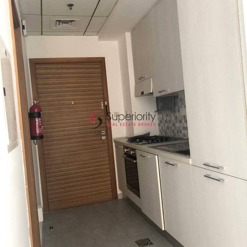 8 Studio  with Nice atmosphere balcony  for Rent in Sherena Residence Majan