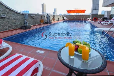 1 Bedroom Hotel Apartment for Rent in Al Nahda, Sharjah - Mutiple Elegant Units   Fully furnished   Including all at Royal Grand Suit Hotel in Sharjah