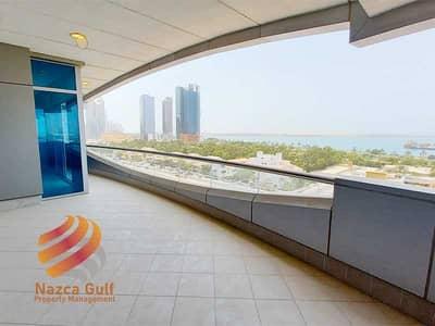 4 Bedroom Apartment for Rent in Tourist Club Area (TCA), Abu Dhabi - Sea Front Sophisticated 4 Bed Unit plus Maids Room