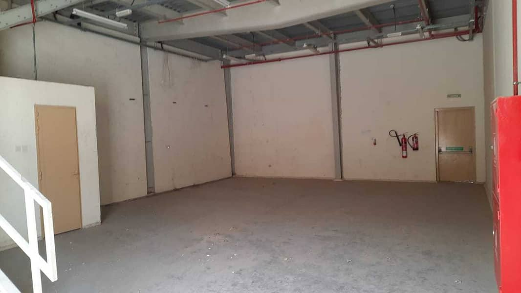 Jebel Ali Industrial Area 2,450 Sq. Ft warehouse built in with toilet & pantry