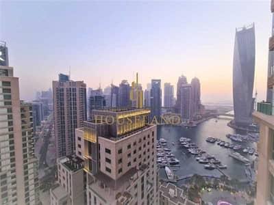 فلیٹ 2 غرفة نوم للايجار في دبي مارينا، دبي - 2 BR + Study - Marina View - Vacant - Chiller Free