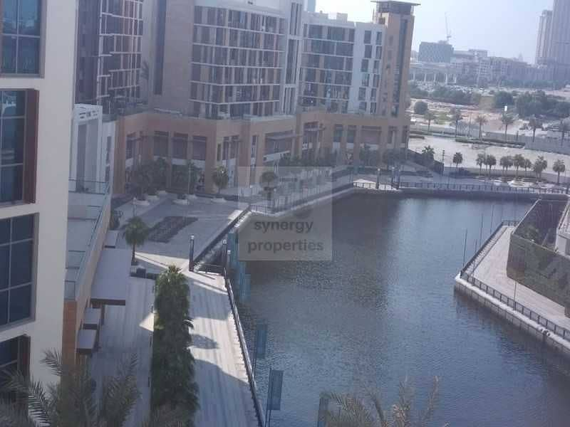13 2BR+M in Dubai Wharf with Partial Canal view