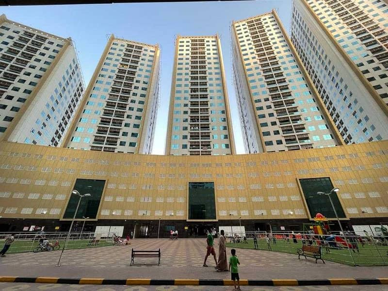 Modern Style Studio For Rent In Ajman Pearl Tower