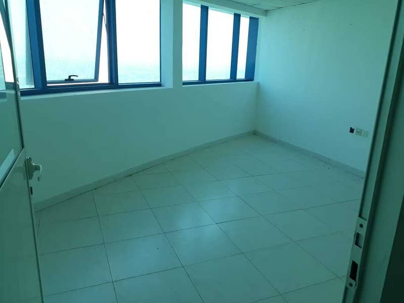Office Available For Rent In Falcon Tower With Parking Only 22K AED