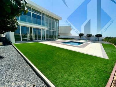4 Bedroom Villa for Sale in Al Zorah, Ajman - Modern villa, European finishing, freehold, overlooking the golf