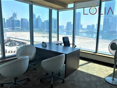 Office for Rent in Business Bay, Dubai - Huge Size Office Space | Lower Floor | 2 parkings