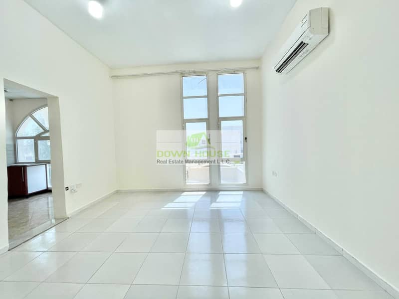 H:  studio flat with huge separate kitchen for rent in Khalifa city A