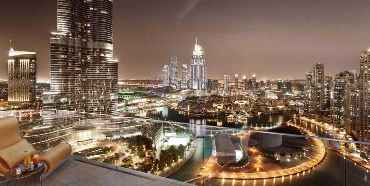 4 BED ROOM PENTHOUSE AT DOWNTOWN NEXT TO BURJ KHALIFA