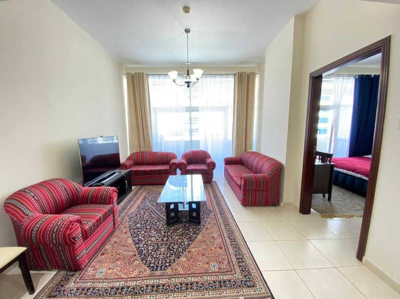 Fully Furnished Spacious  One Bedroom With Balcony