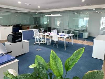 مکتب  للبيع في جزيرة الريم، أبوظبي - Luxurious Fully Fitted 2 Office w/ Glass Partition