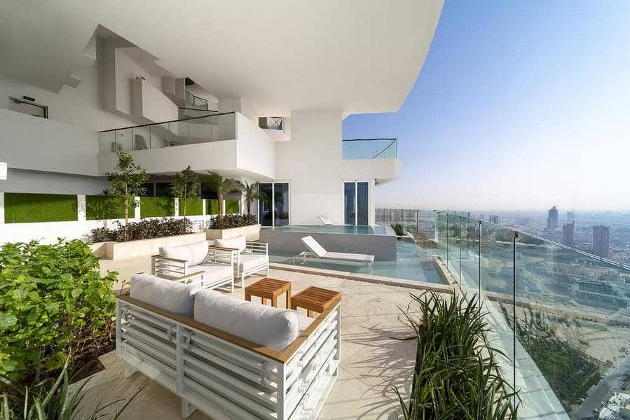 Great Investment /Penthouse with Private Pool   High Floor