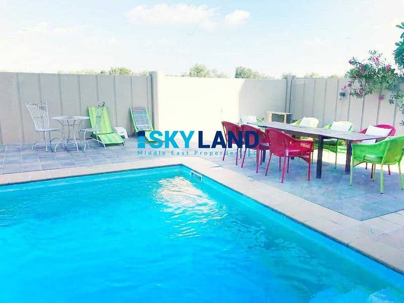 Exclusive | Single Row | Private Pool and Garden