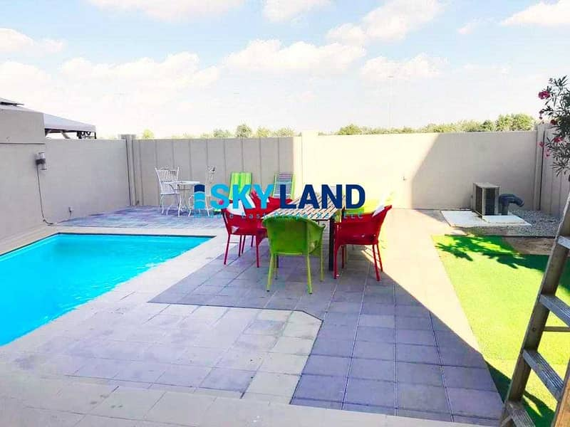 2 Exclusive | Single Row | Private Pool and Garden