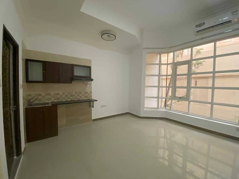 2 STUDIO IN AL BATEEN AIRPORT AREA!NO COMMISSION FEE!TAWTHEEQ AVAILABLE!