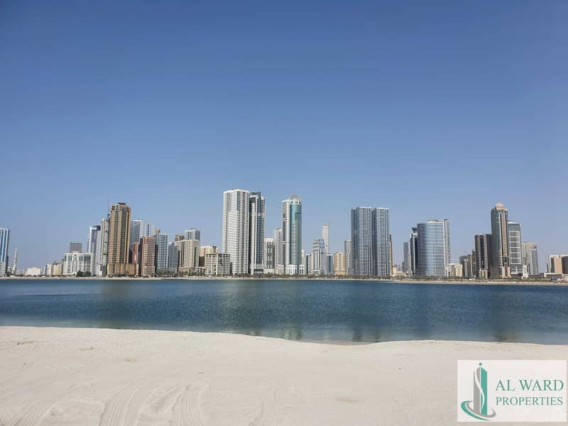 2 Luxury Waterfront Living  in Heart of Sharjah Downtown  Ready to move in