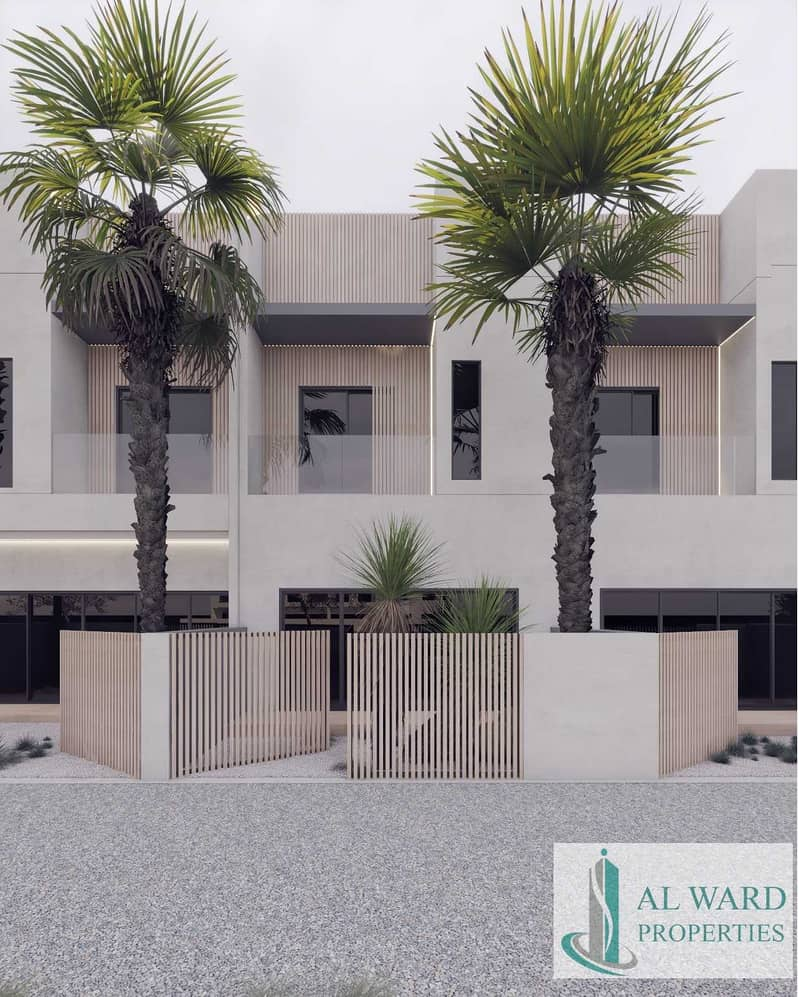 Luxury Contemporary Townhouse in Meydan | With Post Handover Payment Plan