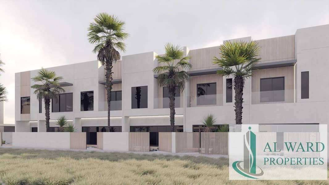 2 Luxury Contemporary Townhouse in Meydan | With Post Handover Payment Plan
