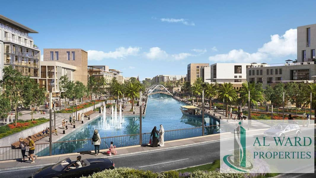 Contemporary   Waterfront Community |  Monthly Payment from AED 1