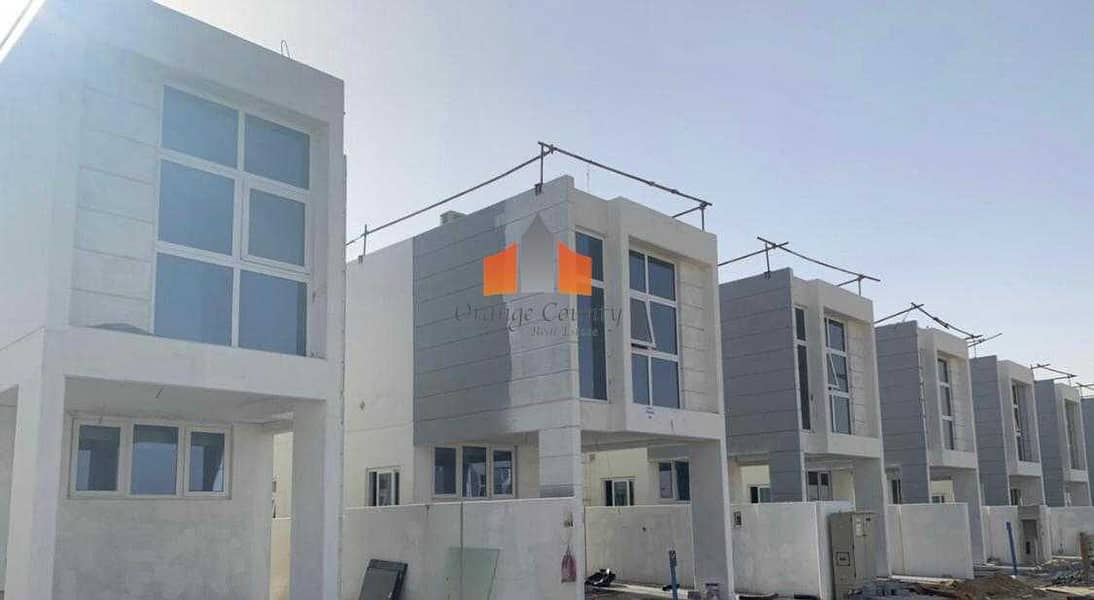 STAND ALONE VILLA | 3BR | Ready soon| 10 Years interest free payment plan.