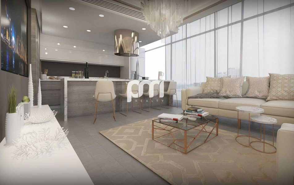 2 Brand New   Luxurious 1 B/R   Downtown View