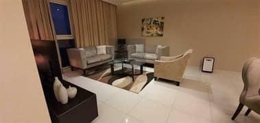 شقة  للبيع -جاهزة ومفروشة بأناقة وبسعر تنافسي