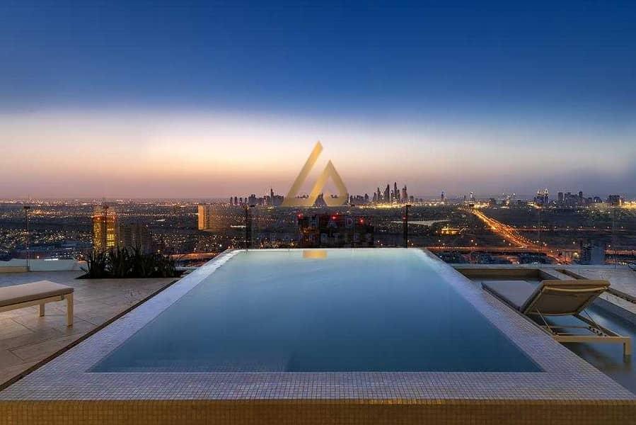 2 High ROI | Private Pool + Terrace | Highest Floor