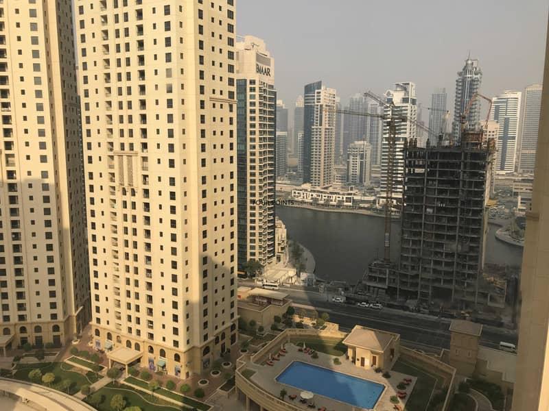 2 Marina View Furnished 1BR Apartment in Murjan 2 JBR