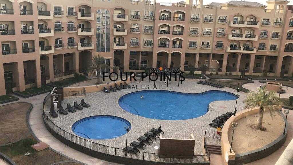 Unfurnished 1 Bedroom Apartment I Pool View
