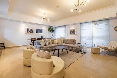 2 Bedroom Apartment for Rent in Dubai Marina, Dubai - Classy Large 2 Beds With Partial Marina VIew