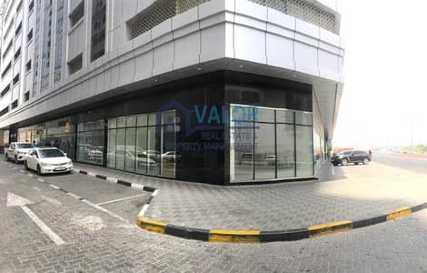 Shop for Rent in Al Nahda, Sharjah - SAHARA TOWER 4 | SIDE UNIT | VACANT