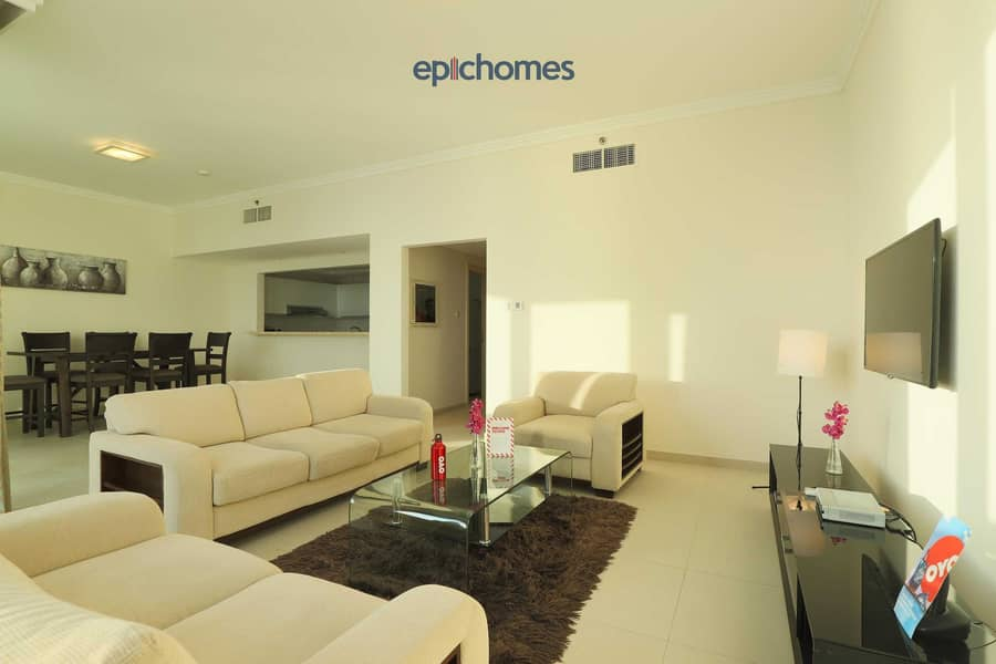 Ain Dubai and Sea view| High Floor 2BR+Maid