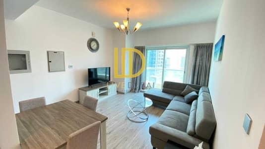 فلیٹ 2 غرفة نوم للايجار في أبراج بحيرات الجميرا، دبي - Furnished | Higher Floor with lake View HL
