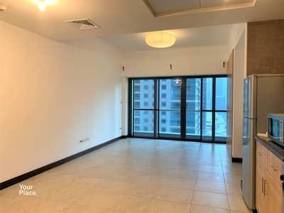 Studio for Rent in Jumeirah Lake Towers (JLT), Dubai - Lake View   Spacious Studio   Furnished Kitchen