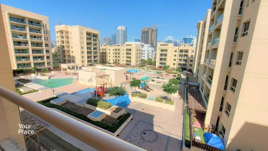 1 Bedroom Flat for Rent in The Greens, Dubai - Best Pool View - Unfurnished - Ready to Move In
