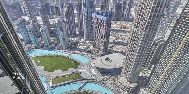 شقة 1 غرفة نوم للبيع في وسط مدينة دبي، دبي - High Floor - Opera and Lake view - Furnished