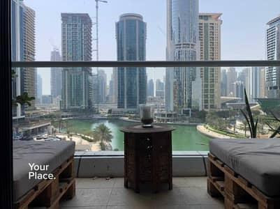 شقة 1 غرفة نوم للايجار في أبراج بحيرات الجميرا، دبي - Best JLT Cluster - Full Lake View