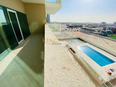 شقة 1 غرفة نوم للايجار في الفرجان، دبي - Pool View?1BR ?Brand New ?Chiller Free