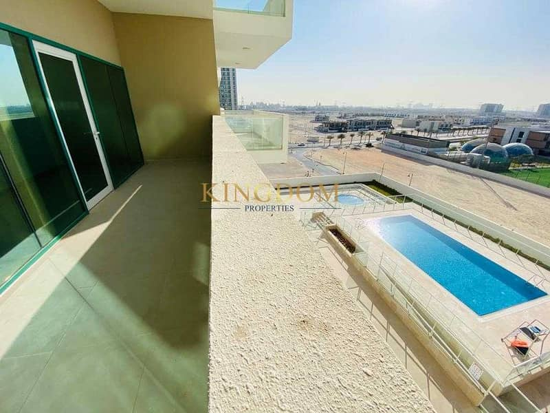 Pool View?1BR ?Brand New ?Chiller Free