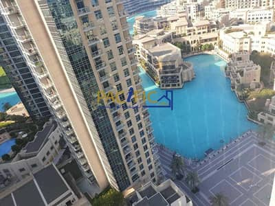 3 Bedroom Apartment for Sale in Downtown Dubai, Dubai - Fully Furnished | Burj Khalifa and Fountain view